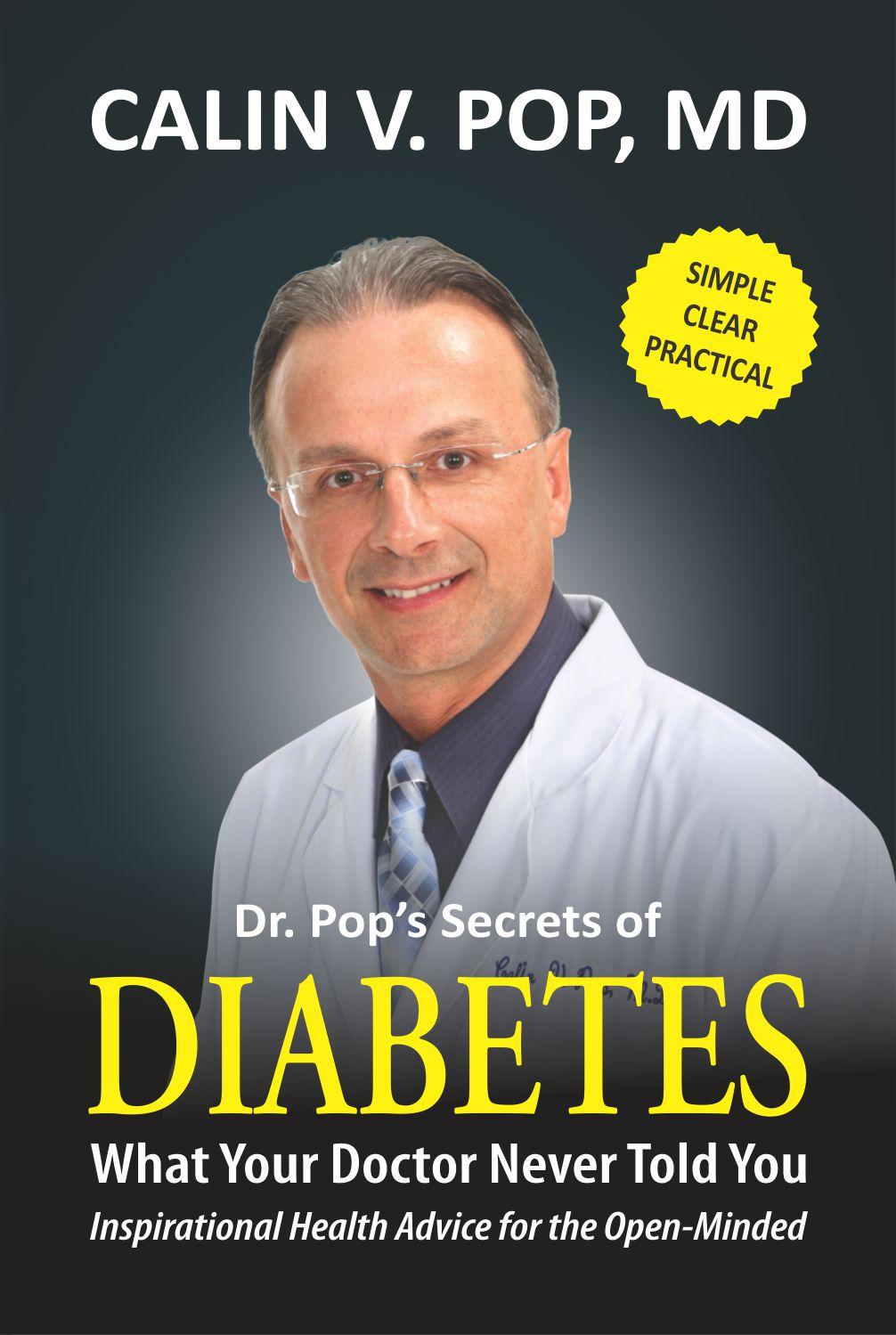 Dr Pop secrets of Diabetes Cover